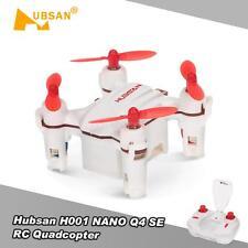 Hubsan H001 NANO Q4 SE - Mini Pocket Drone - RC Quadcopter 2.4G 4CH 6-Axis K6M9
