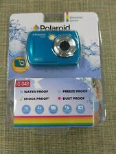 NEW SEALED Polaroid Waterproof Digital Camera 16MP Shock Proof Freeze iS 048