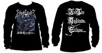 EMPEROR cd cvr IN THE NIGHTSIDE ECLIPSE Official LONG SLEEVE SHIRT LRG new
