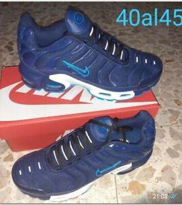 NIKE AIR MAX TN Blu Baffo blu bordi CelestiN43 Spedizione CORRIERE GLS  24H