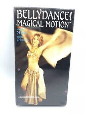 Bellydance Magical Motion VHS Atea Learn to Belly Dance Exercise NEW SEALED