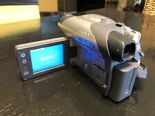 Sony Handycam Dcr-Dvd105 Digital Video Camera (Uses the small 8cm Dvds)