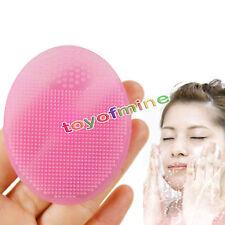 Pulizia Pad volto di lavaggio viso Esfoliante pennello SPA pelle Scrub Cleanser