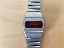 Used Vintage Steel Digital Watch CRITRON Reloj NOT WORKING NO FUNCIONA For spare