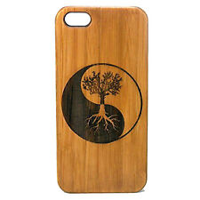Tree of Life Case made for iPhone 8 phone Eco-Friendly Durable Bamboo