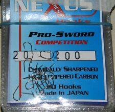 1 Confezione 20 ami TRABUCCO NEXUS serie 200 n 20 pesca mf bd144