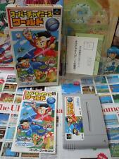 Super Famicom SFC:Super Chinese World [TOP CULTURE BRAIN] COMPLET - Jap