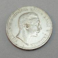 """Silbermünze 5 Mark  DR Münze Silber Wilhelm II v. Preussen 1902 """"A"""" VZ"""