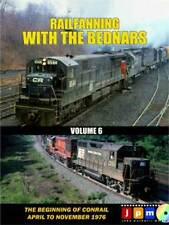Railfanning with the Bednars Vol 6 DVD NEW Conrail Lehigh Valley John Pechulis