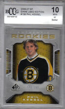 06-07 SP Game Used Phil Kessel Rookie Card RC #106 508/999 BCCG 10 Mint