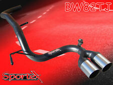 Sportex VW Lupo performance exhaust race tube tailpipe 1.0i, 1.4i 1998-2005