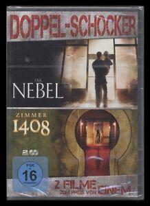 DVD DER NEBEL & ZIMMER 1408 - HORROR DOPPELPACK - 2 DISC SET - JOHN CUSACK * NEU