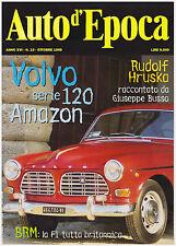 AUTO D'EPOCA 10/1999 VOLVO SERIE 120 AMAZON – BRM F1 – RUDOLF HRUSKA