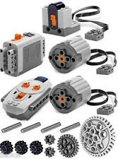 Lego Power Functions SET 3 (technic,motor,receiverr,emote control,xl,gears,axle)