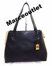 Lauren Ralph Lauren Guilford  Tote Black Tan $188.00