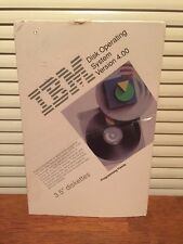 IBM DOS Disk Operating System 4.0 - 3.5 Disks (H) New In Open Box