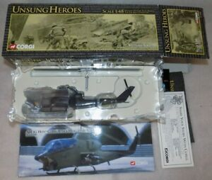 CORGI UNSUNG HEROES 1/48 AH-1G HUEY COBRA ATTACK HELICOPTER USMC US51202