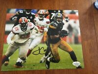 James Connor Original Autographed Signed Pittsburgh Steelers 8x10 Photo W/COA