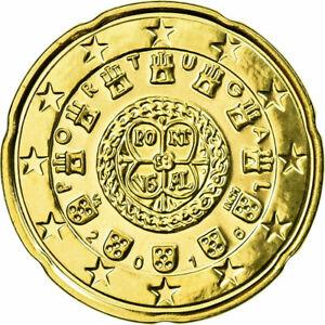 [#731261] Portugal, 20 Euro Cent, 2016, FDC, Laiton