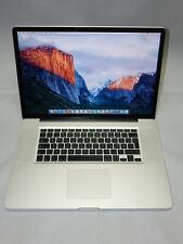 """Apple MacBook Pro A1297 17""""  Intel 4GB 500GB SSHD"""