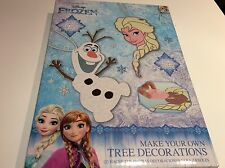 New Disney Frozen Make Your Own Christmas Tree Decorations - Elsa Olaf