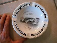 Ancien Cendrier Publicitaire Fournier-Demars Liqueur Usine St Amand Cher