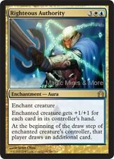 Return to Ravnica ~ RIGHTEOUS AUTHORITY rare Magic the Gathering card