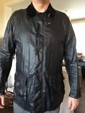 BARBOUR Lightweight Waterproof Sylkoil Ashby Jacket Outdoor Coat Men's Size XL