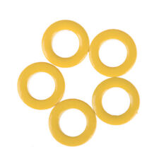 5Pcs Yellow Micrometals T50-6 Iron Powder Toroidal Core RF Toroid HF HAM
