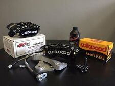 GWR Ultralight 4 Piston Brake Caliper Set (FRONT) - 17'+ Fiat 124 Spider
