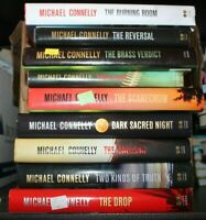 Lot of 5 Michael Connelly Hardcover Books UNSORTED *RANDOM MIX