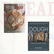 How to Make Bread & Dough Collection 2 Books Set By Emmanuel Hadjiandreou