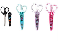 Smiggle Scissors in a Case Black Lilac Pink Blue Home Schooling BRAND NEW