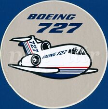 BOEING 727 CLASSIC MIDSIZED NARROW-BODY THREE-ENGINED JET AIRCRAFT STICKER
