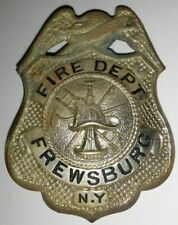 Old C clasp FREWSBURG, NEW YORK FIRE DEPT. BADGE