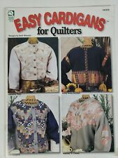 Easy Cardigans For Quilters Sweatshirt Decorating Pattern Book 8 Designs