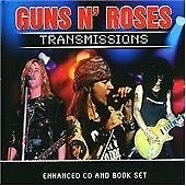 GUNS N' ROSES - TRANSMISSIONS CD ENHANCED VIDEO LIVE MINT CONDITION