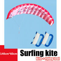 Fashion Dual Line Stunt Parafoil Kites Soft Kite for Beach With Flying Tool New