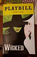WICKED PLAYBILL  9/28/19 Gershwin Theatre N.Y.C.