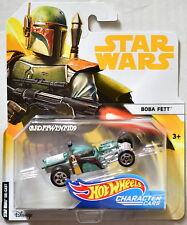 HOT WHEELS 2018 Star Wars Boba Fett PERSONNAGE voitures
