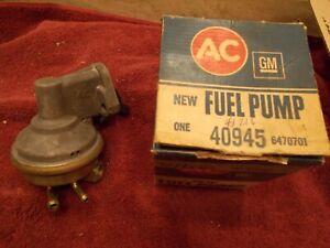 Chevy 350 40945 Fuel Petrol Pump NOS GM AC 73 74 75 76 FREE SHIPPING VINTAGE