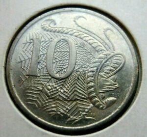 2000 Australia 10 cent nickel copper coin free ship