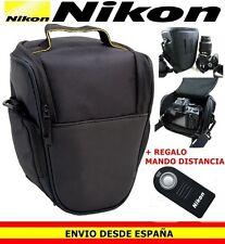 MOCHILA BANDOLERA FUNDA DE CAMARA PARA NIKON D D3200 D3400 D5600 D7200 + MANDO 1