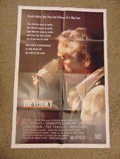 """Paul Newman The Verdict Original 27x41"""" Movie Poster B2 #M8536"""