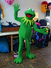 Kermit the Frog Mascot Costume Sesame Street The Muppets Show Party Character
