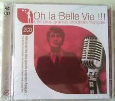 Oh la belle vie !! Crooners Français (2CD Neuf emballé)