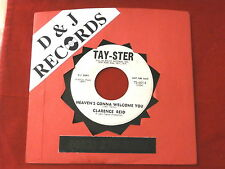 CLARENCE REID~ THE PRICE I HAVE TO PAY~ RARE PROMO~ HEAVEN'S ~ NORTHERN SOUL 45