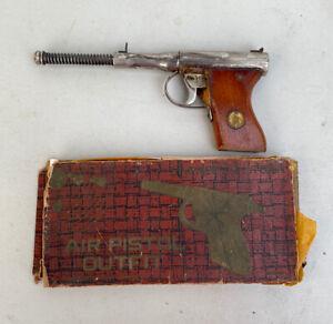 Vintage JGA KEENFIRE 1936 Anschutz Air Pistol Part Outfit L.O.C. Box German DRGM