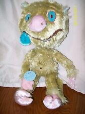 "Yottoy Plush From Leonardo The Terrible Monster Puppet Plush 15"" With Tag"