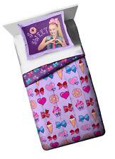 Nickelodeon Jojo Siwa Sweet Life Twin/Full Comforter - Super Soft Kids Revers.
